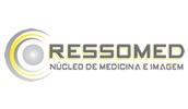 Logomarca Ressomed Núcleo de Medicina e Imagem